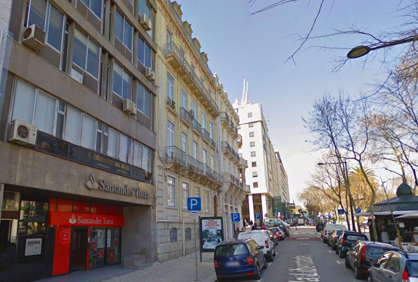 Localizado no centro de Lisboa